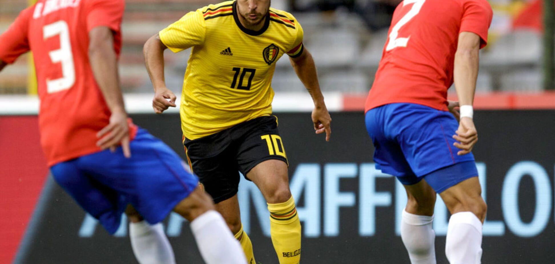 Бельгія - Туніс - 5-2: онлайн-трансляція матчу ЧС-2018