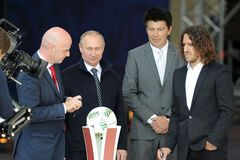 В Гаазі з Путіним зустрічайтесь, а на не футболі