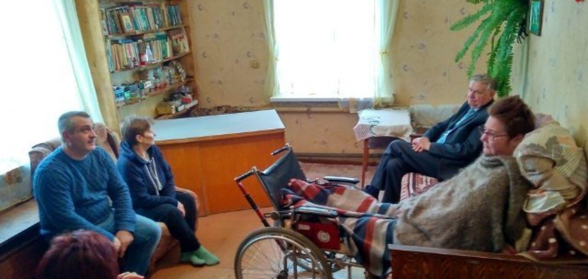 В Росії інваліду влаштували проблеми через біженців з Донбасу