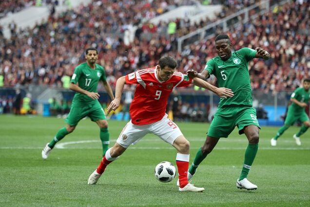 Россия - Саудовская Аравия: обзор матча ЧМ-2018