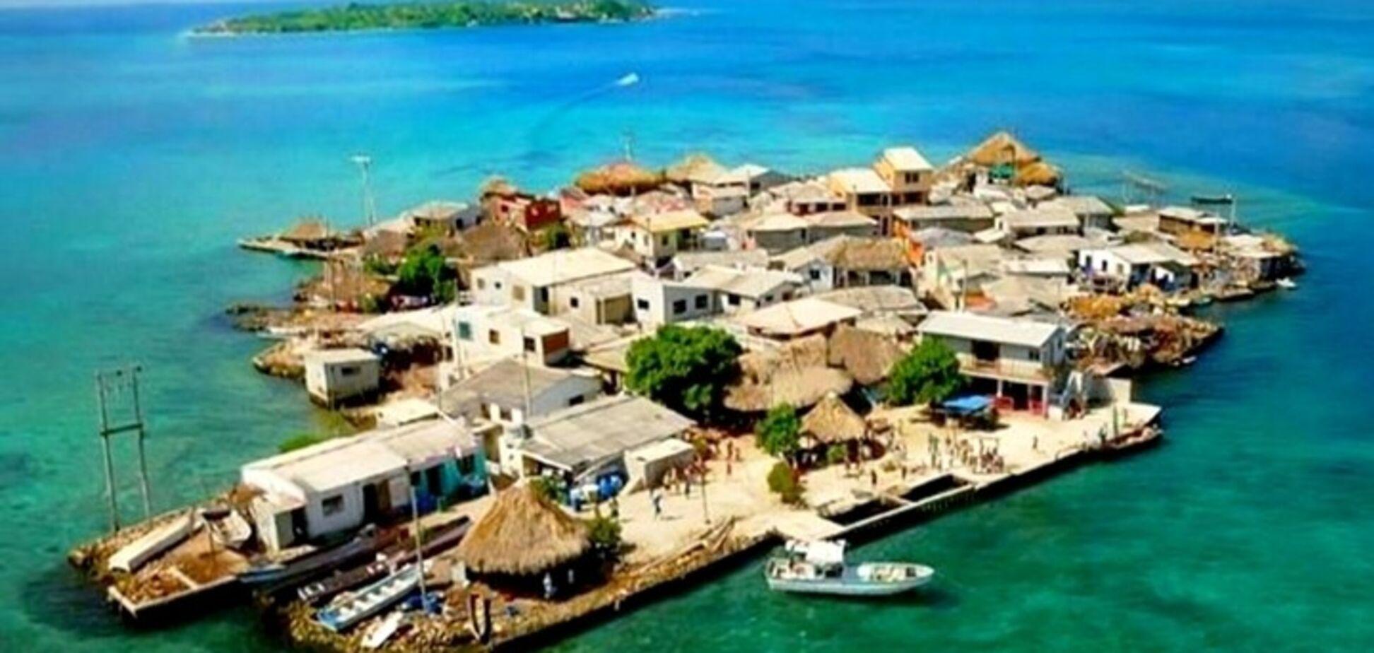 Как выглядит самый населенный остров в мире: опубликованы фото и видео