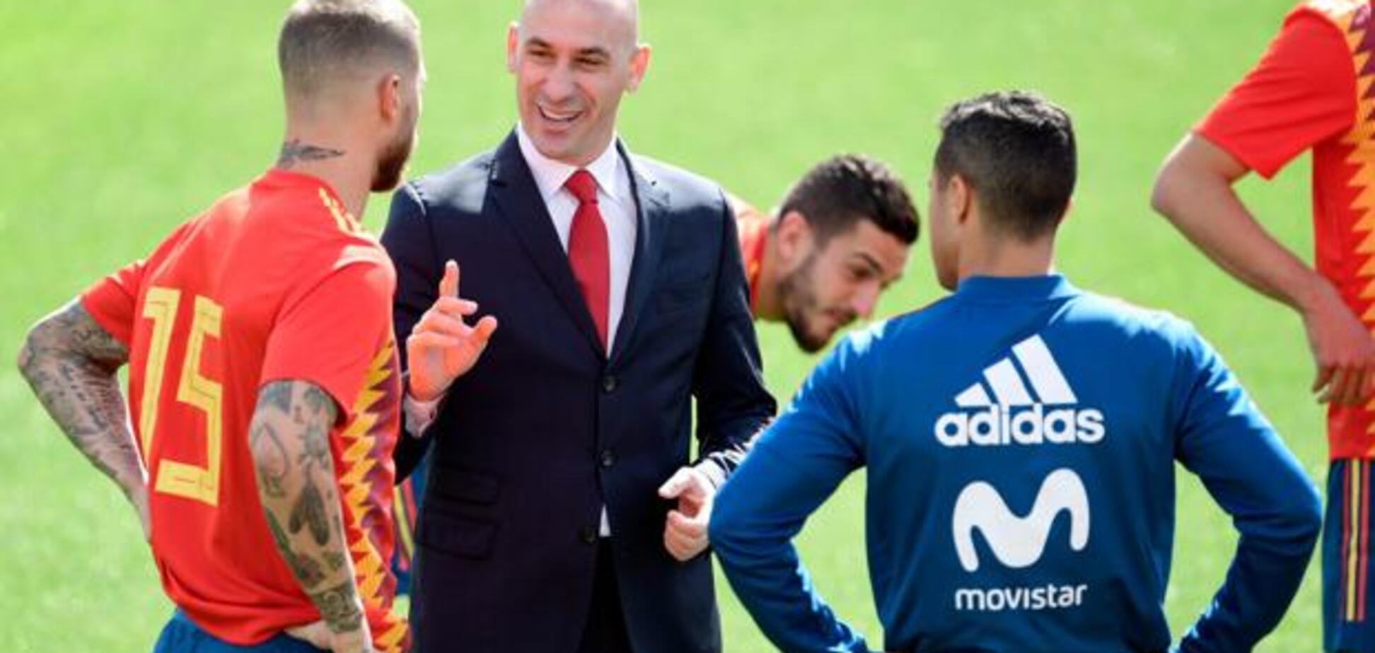 Дичина дня: капітан збірної Іспанії побився з президентом федерації