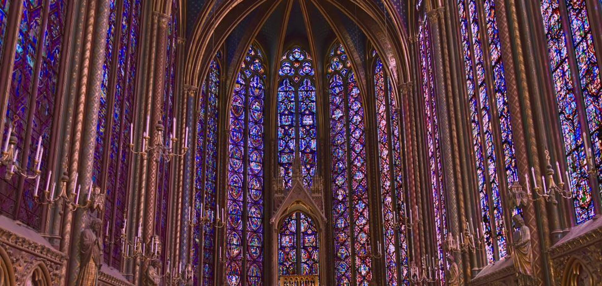 Каплиця Сент-Шапель в Парижі