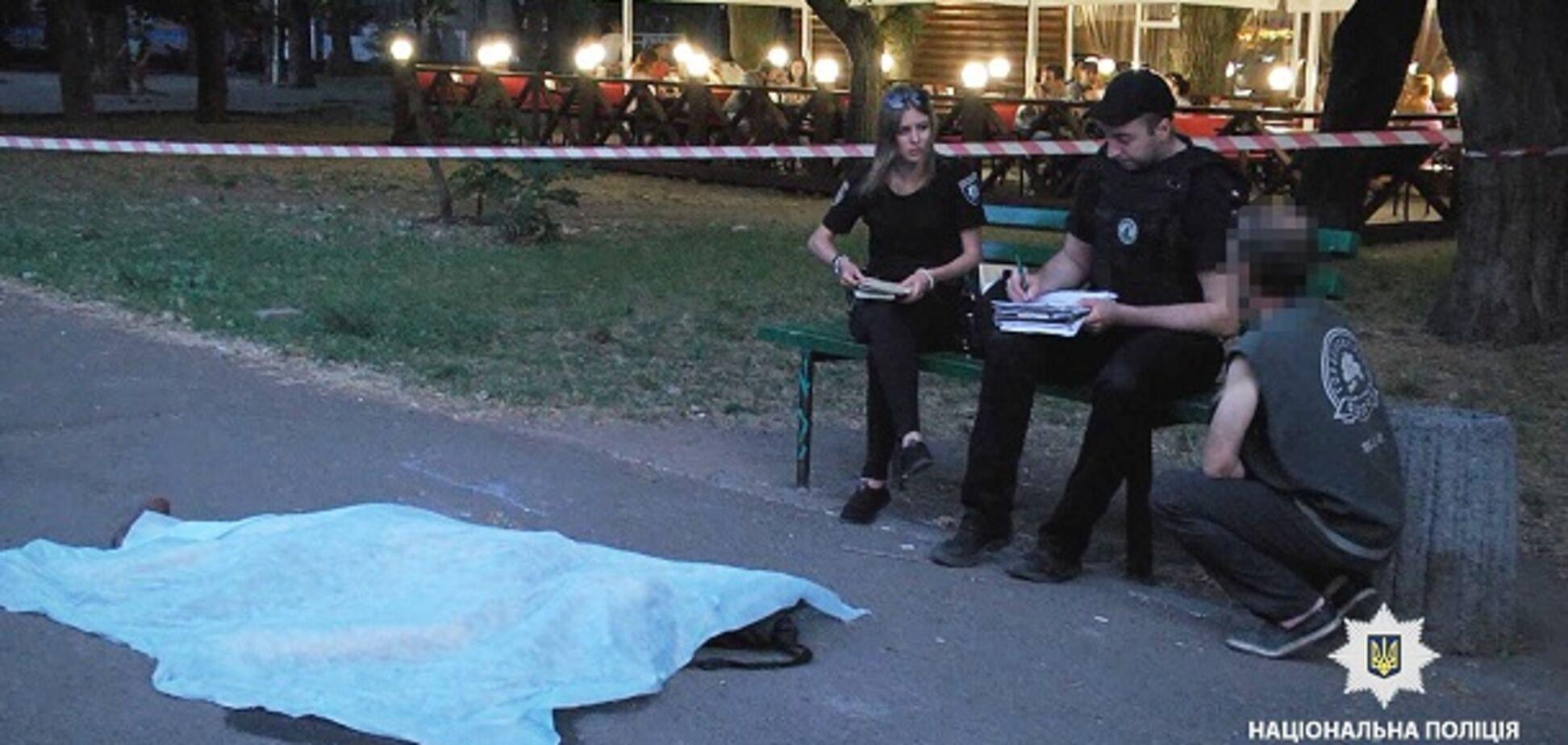 В Одесі чоловік забив до смерті безхатченкана очах у дітей: фото та відео