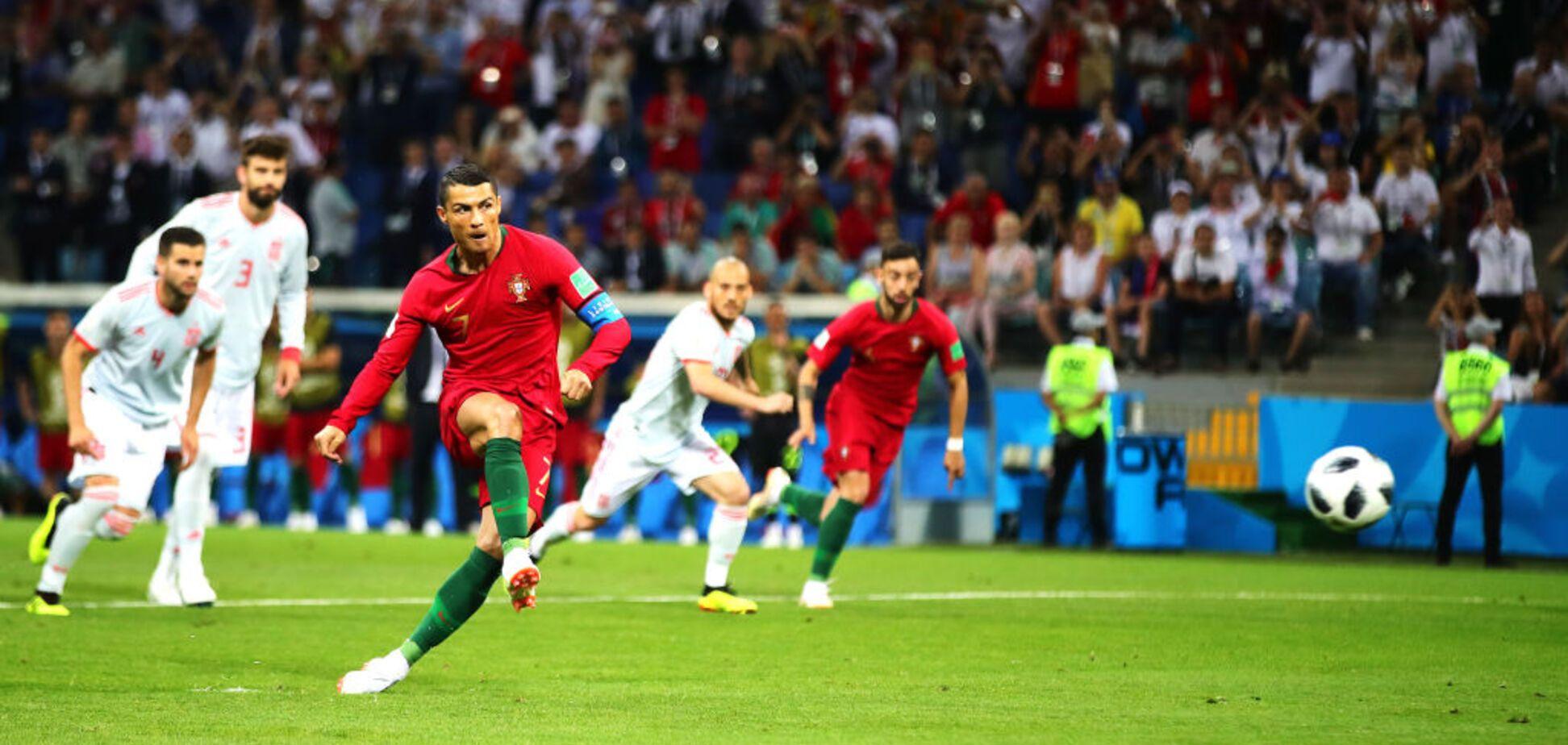 Дубль Кавані! Уругвай - Португалія: онлайн-трансляція матчу 1/8 фіналу ЧС-2018