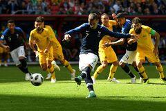 Франція - Австралія: огляд матчу ЧС-2018