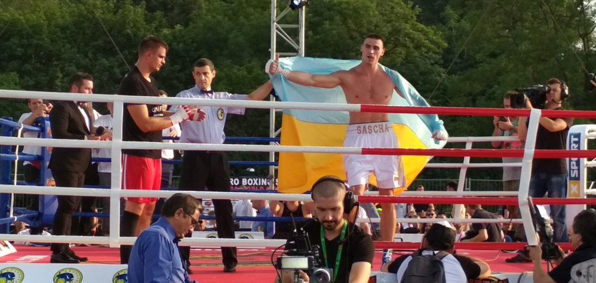Непобедимый украинский боксер добыл красивую победу в Киеве
