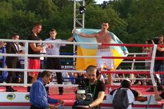 Непереможний український боксер здобув красиву перемогу в Києві
