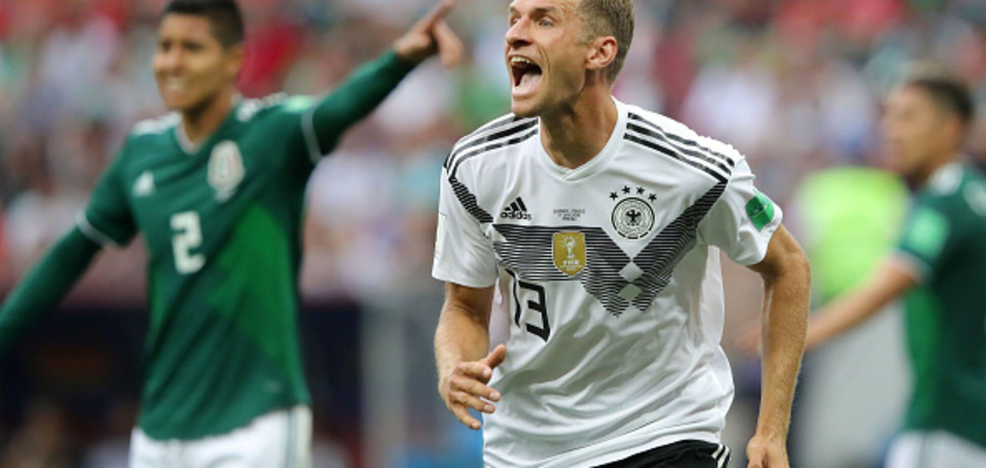 Німеччина - Мексика: огляд матчу ЧС-2018