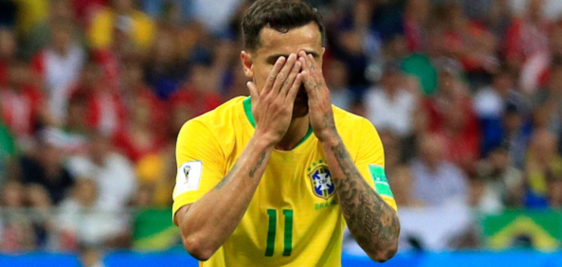 Бразилія зганьбилася в першому матчі ЧС-2018