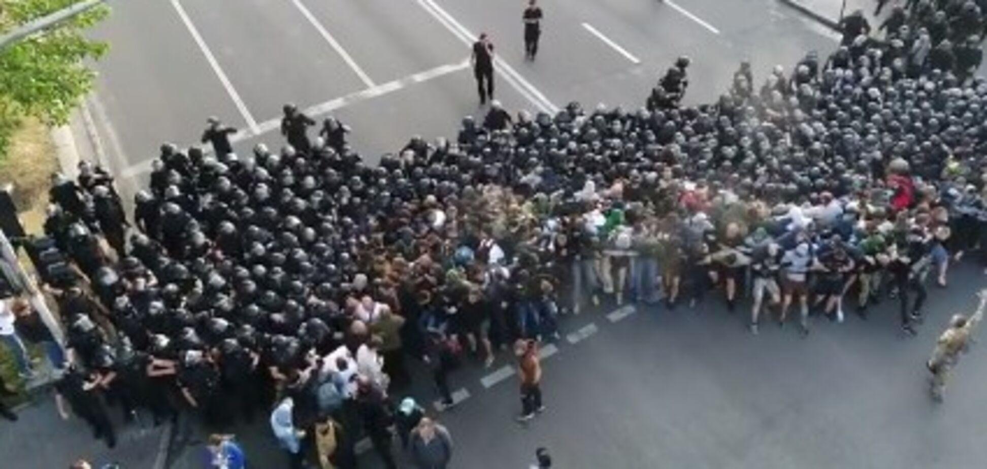 ЛГБТ-марш у Києві: з'явилося відео розгону націоналістів