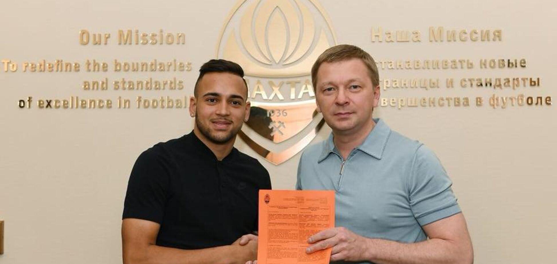Офіційно: 'Шахтар' підписав другого бразильця за два дні
