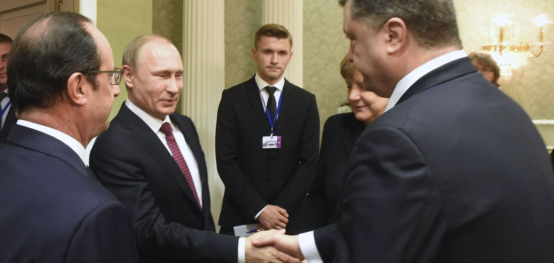 Путін Порошенко