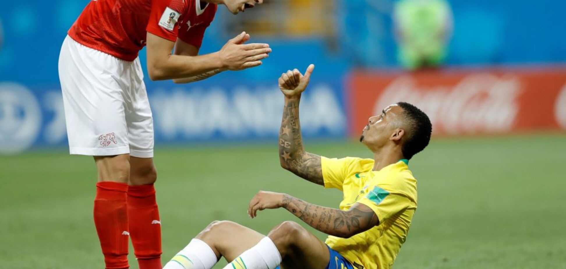 Бразилия – Швейцария: обзор матча ЧМ-2018