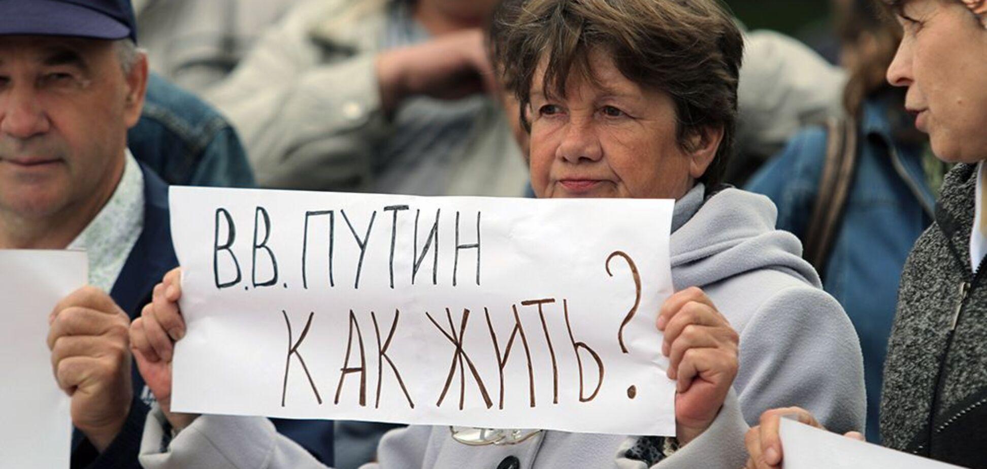 Бунт в России: россиянка сказала, что ждет Путина