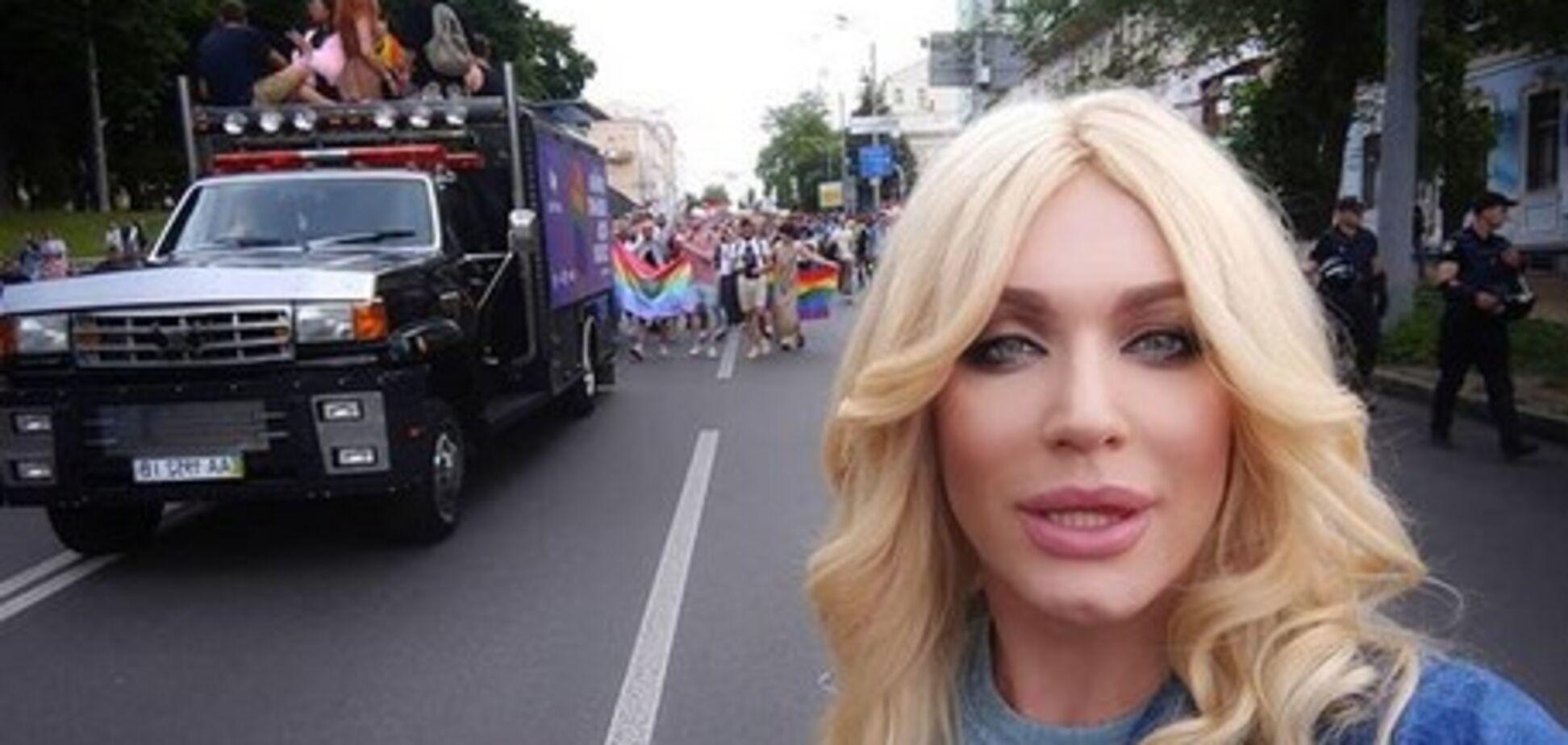 Травесті-діва Монро попередила учасників ЛГБТ-Прайду про небезпеку