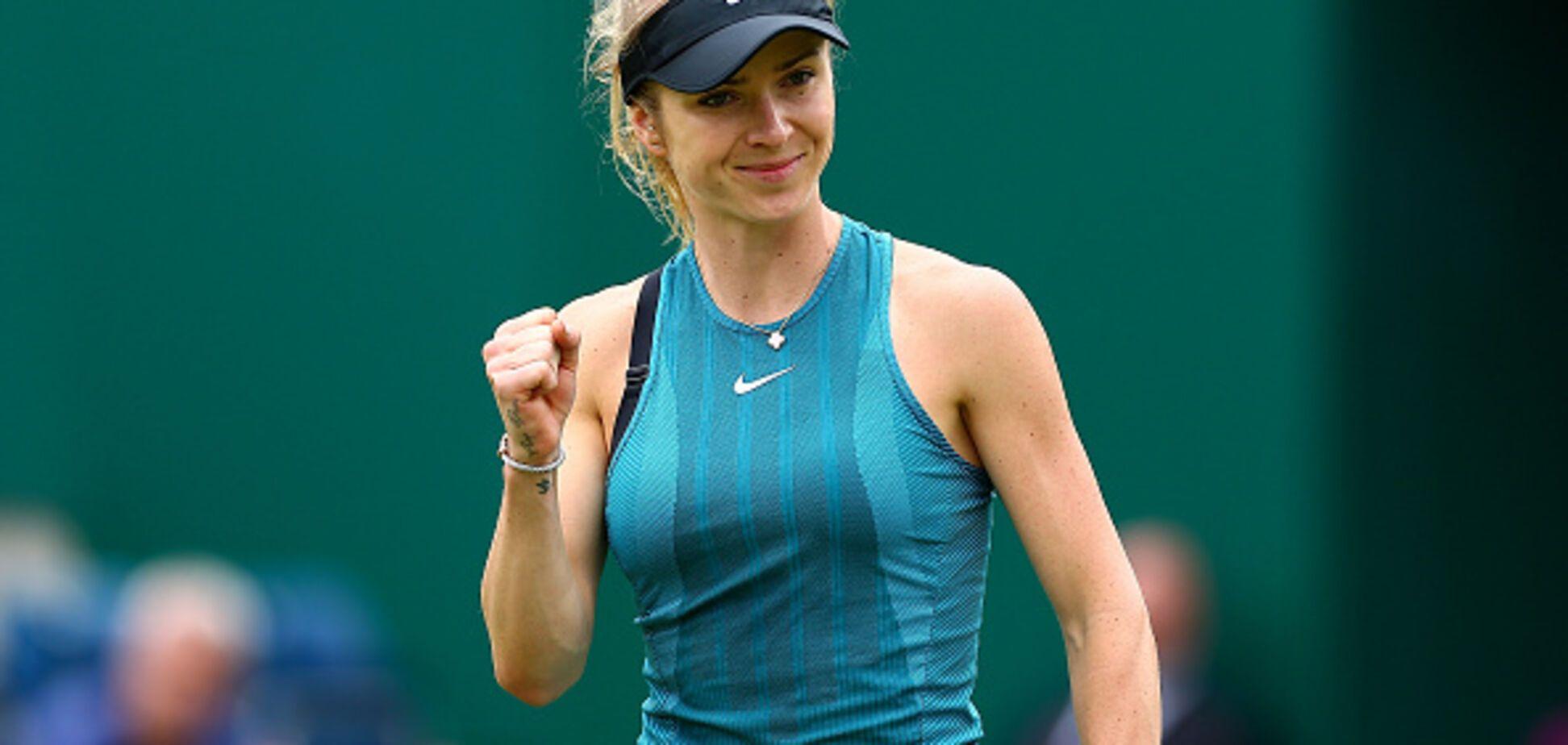 Лучшая теннисистка Украины роскошно стартовала на престижном турнире в Бирмингеме