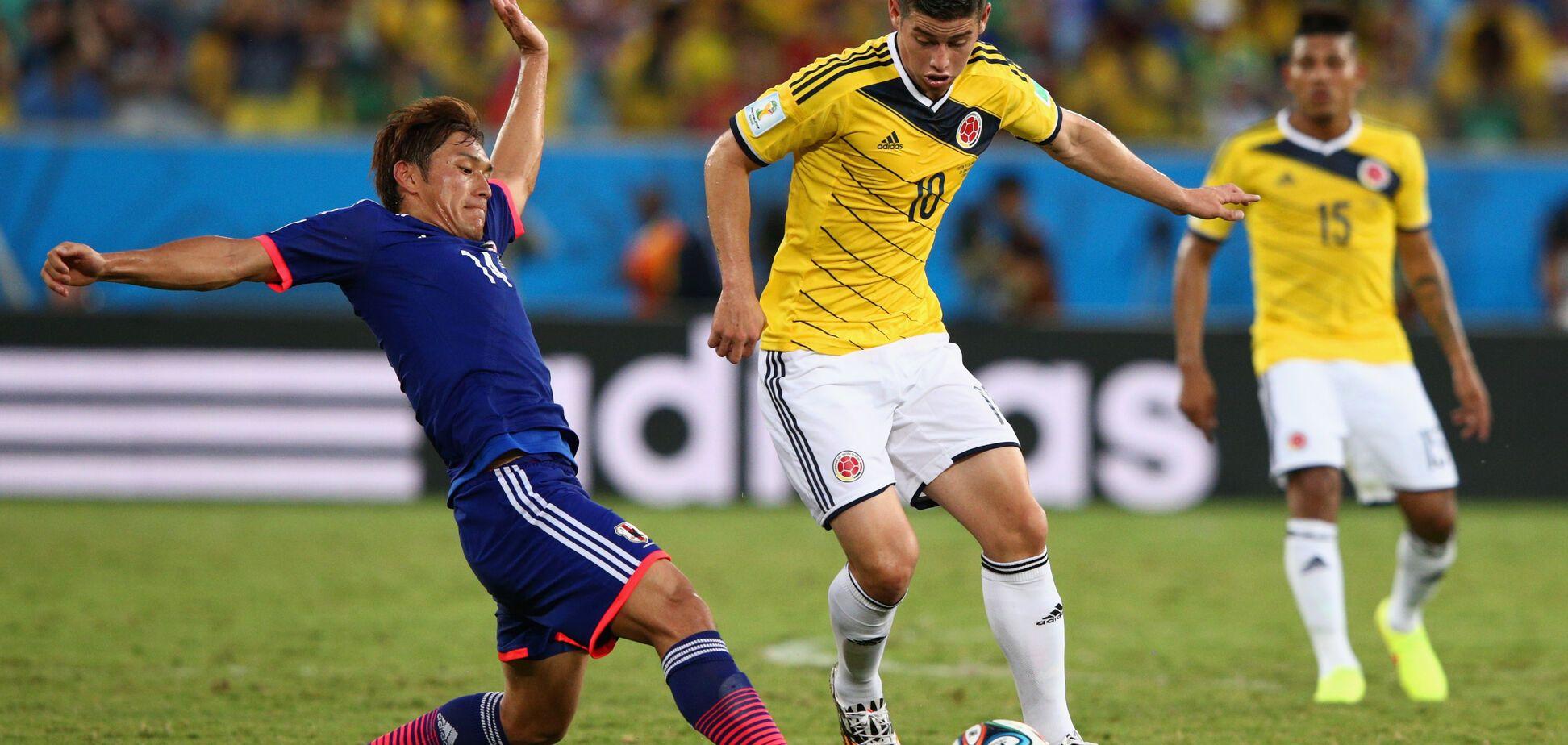 Колумбия – Япония - 1-2: онлайн-трансляция матча ЧМ-2018