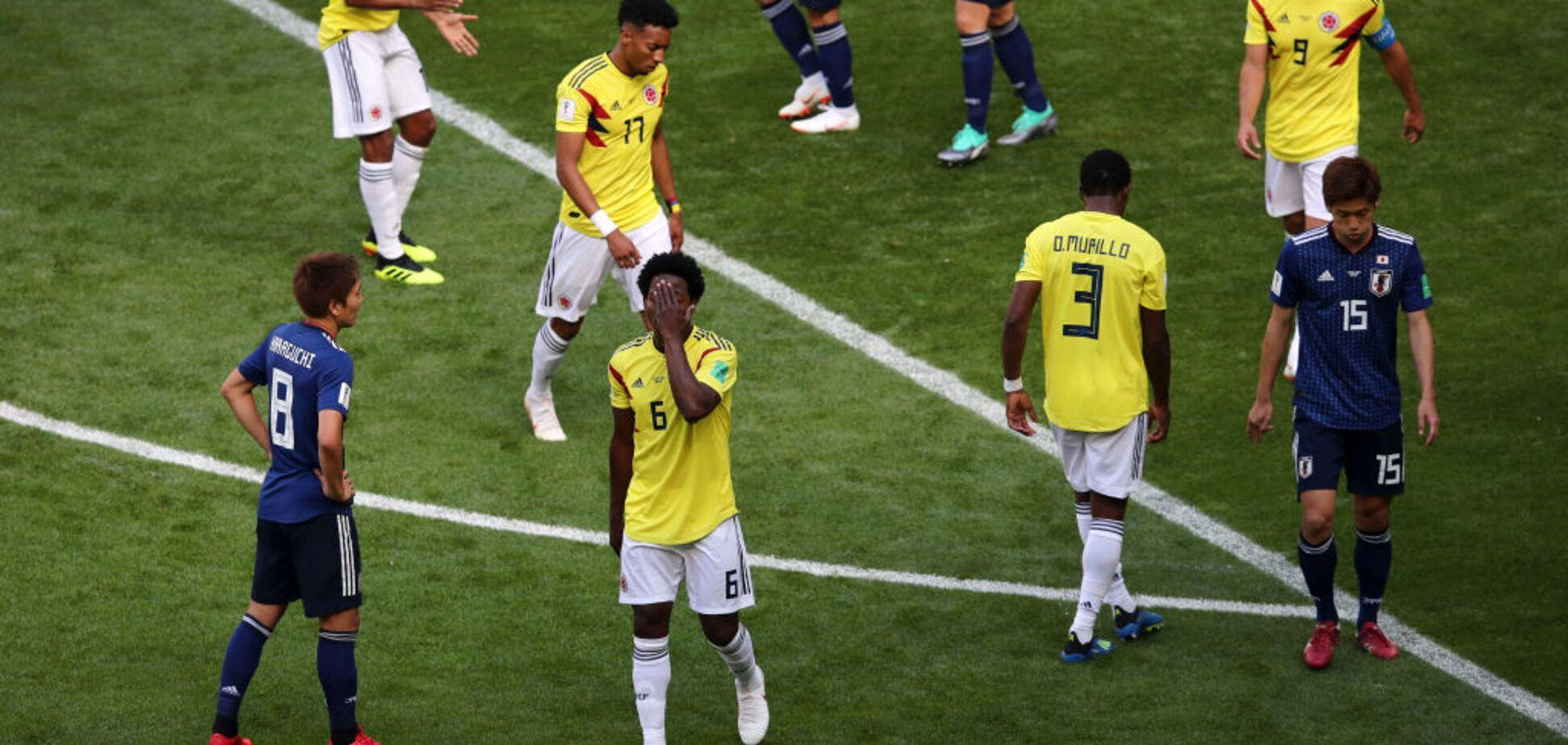 Колумбия – Япония: обзор матча ЧМ-2018