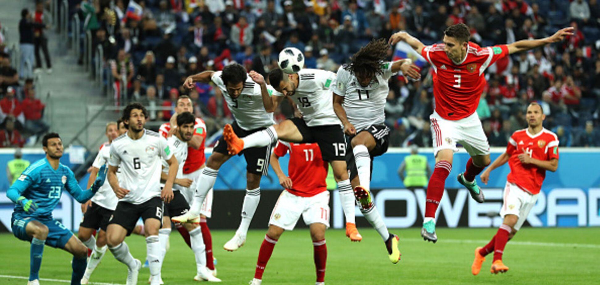 Россия - Египет: обзор матча ЧМ-2018