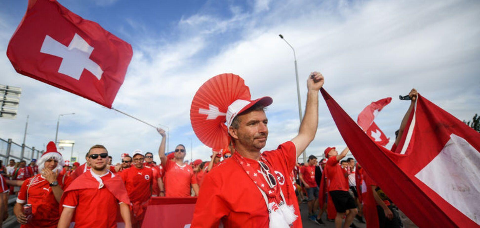 Швейцарські уболівальники знову 'відзначилися' на ЧС-2018