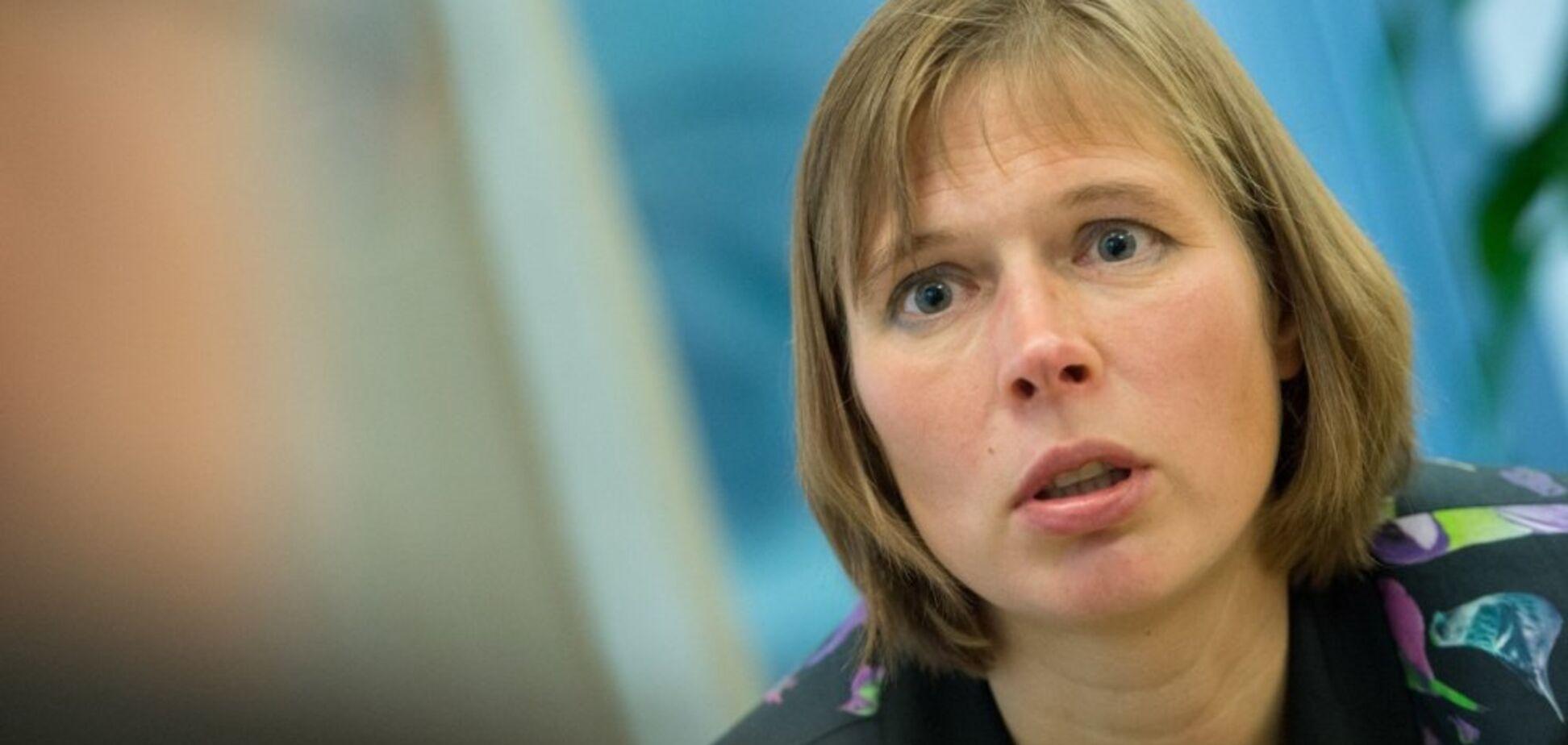'Называйте своими именами': президент Эстонии обратилась к миру из-за войны на Донбассе и в Грузии