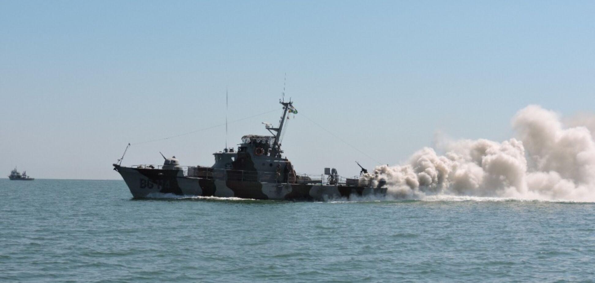 'Экшн!' В Азовском море прошли боевые учения пограничников