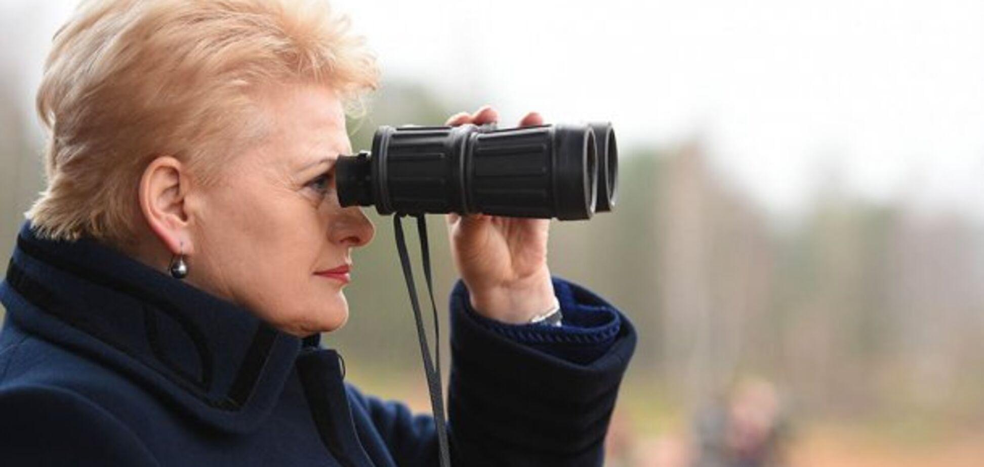 Литва готовится к наступлению России: Грибаускайте рассказала, что ее остановит