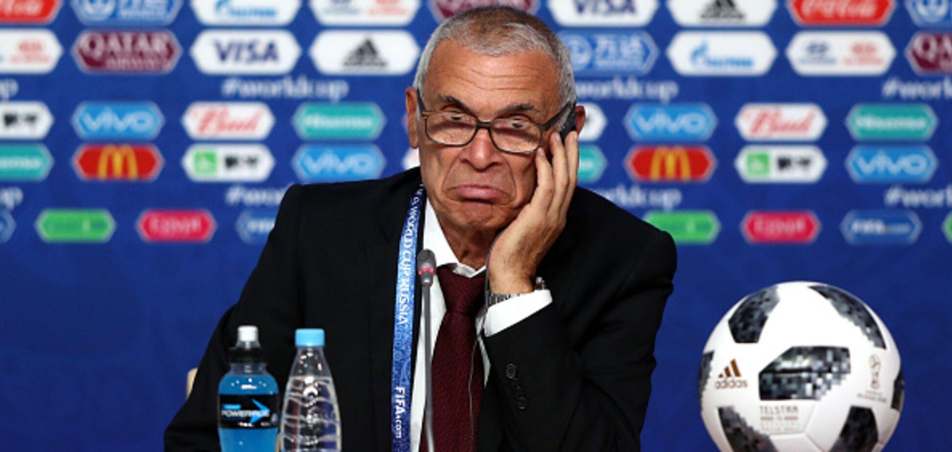 Тренер Египта поплатился за поражение от России