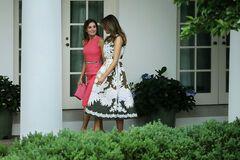 Модна битва: Меланія Трамп і королева Летиція зустрілися в Білому домі
