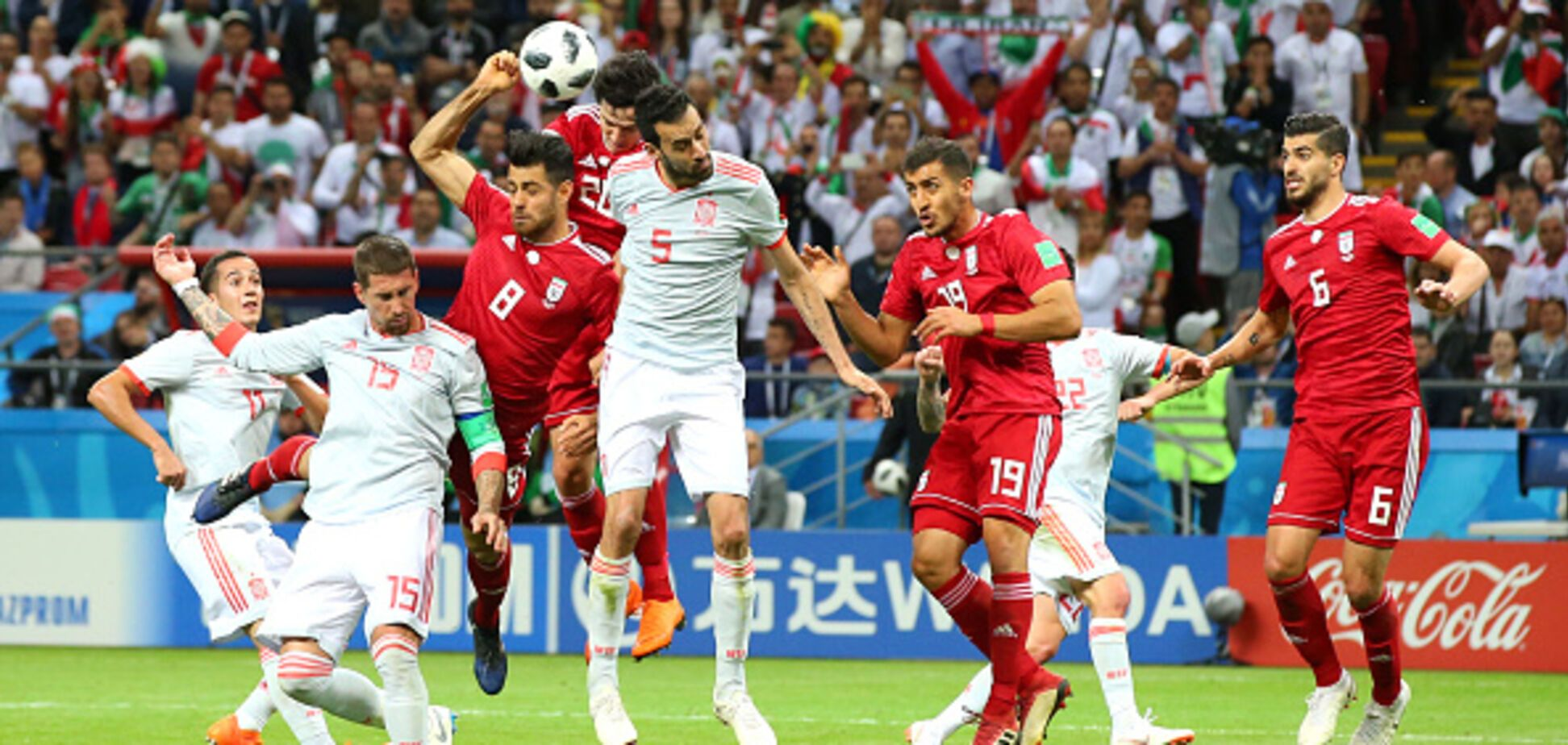 Иран – Испания: обзор матча ЧМ-2018