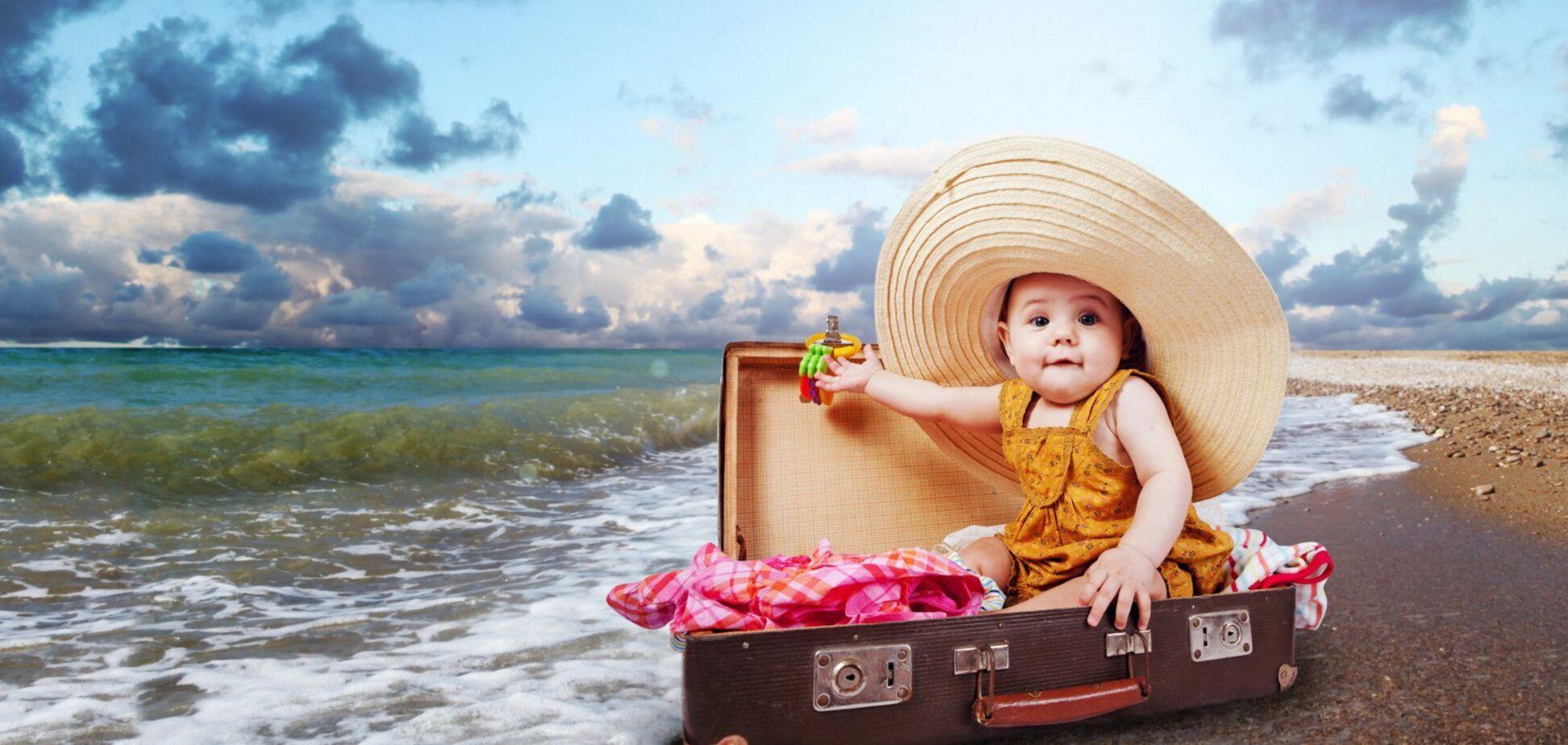 Детское питание в отпуске