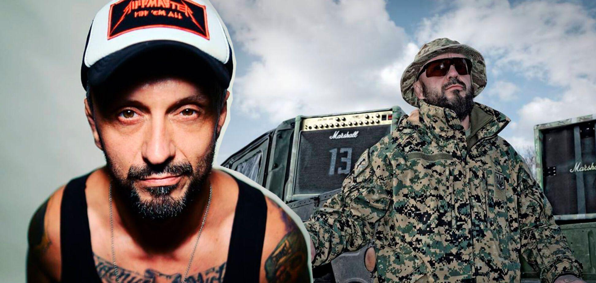Відомий рок-музикант пояснив, навіщо пішов воювати на Донбас
