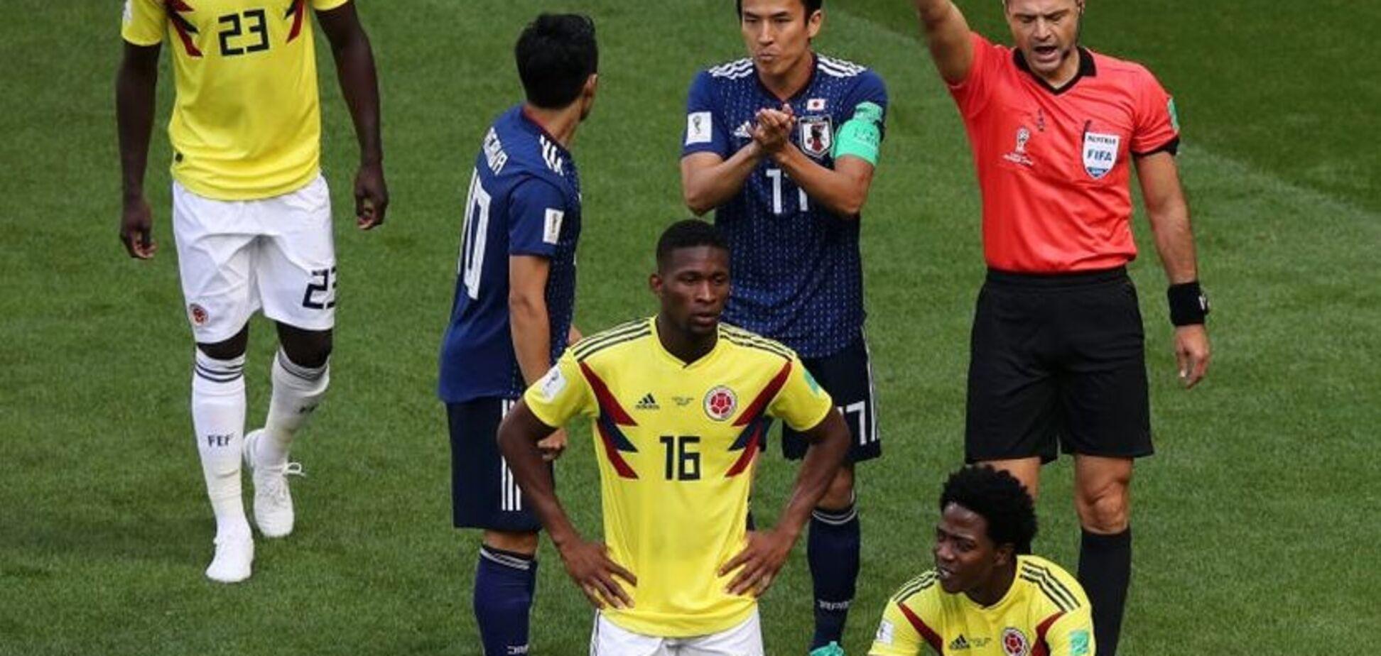 Фанати загрожують смертю гравцю за вилучення в матчі чемпіонату світу