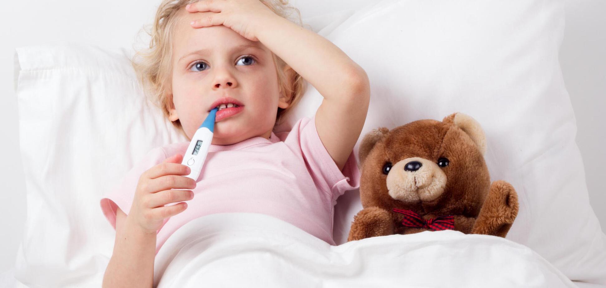 Гіпертермія у дитини – перша допомога
