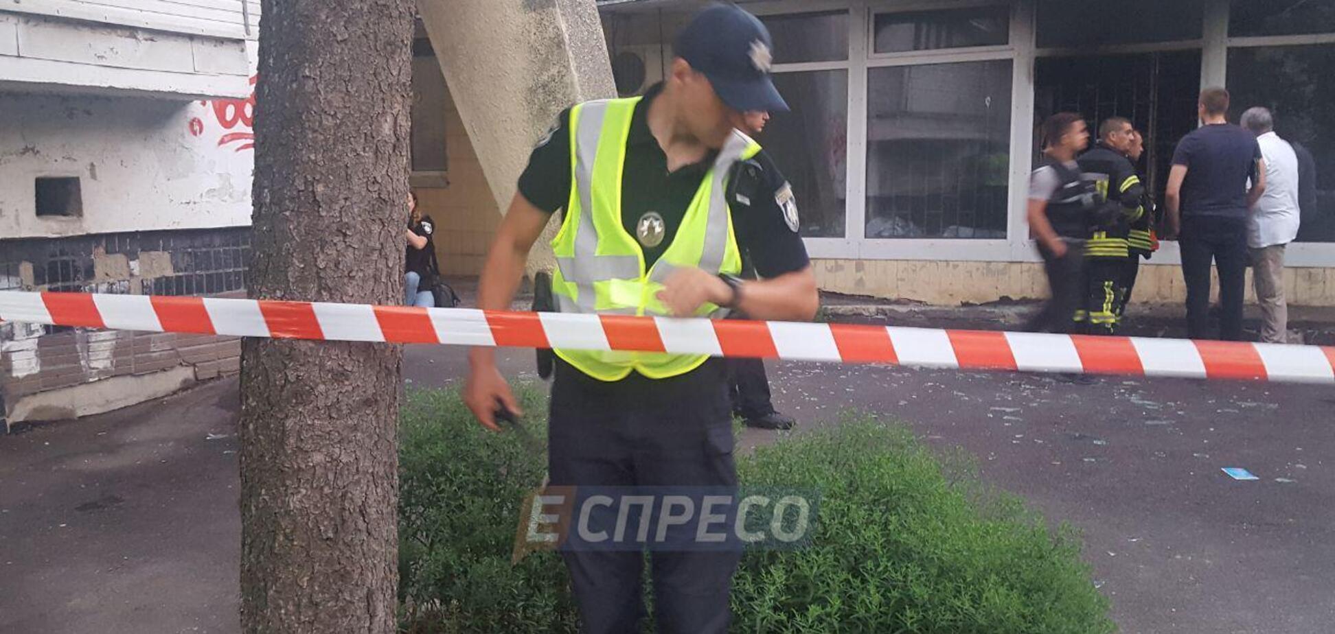 В Киеве прогремел взрыв в банке