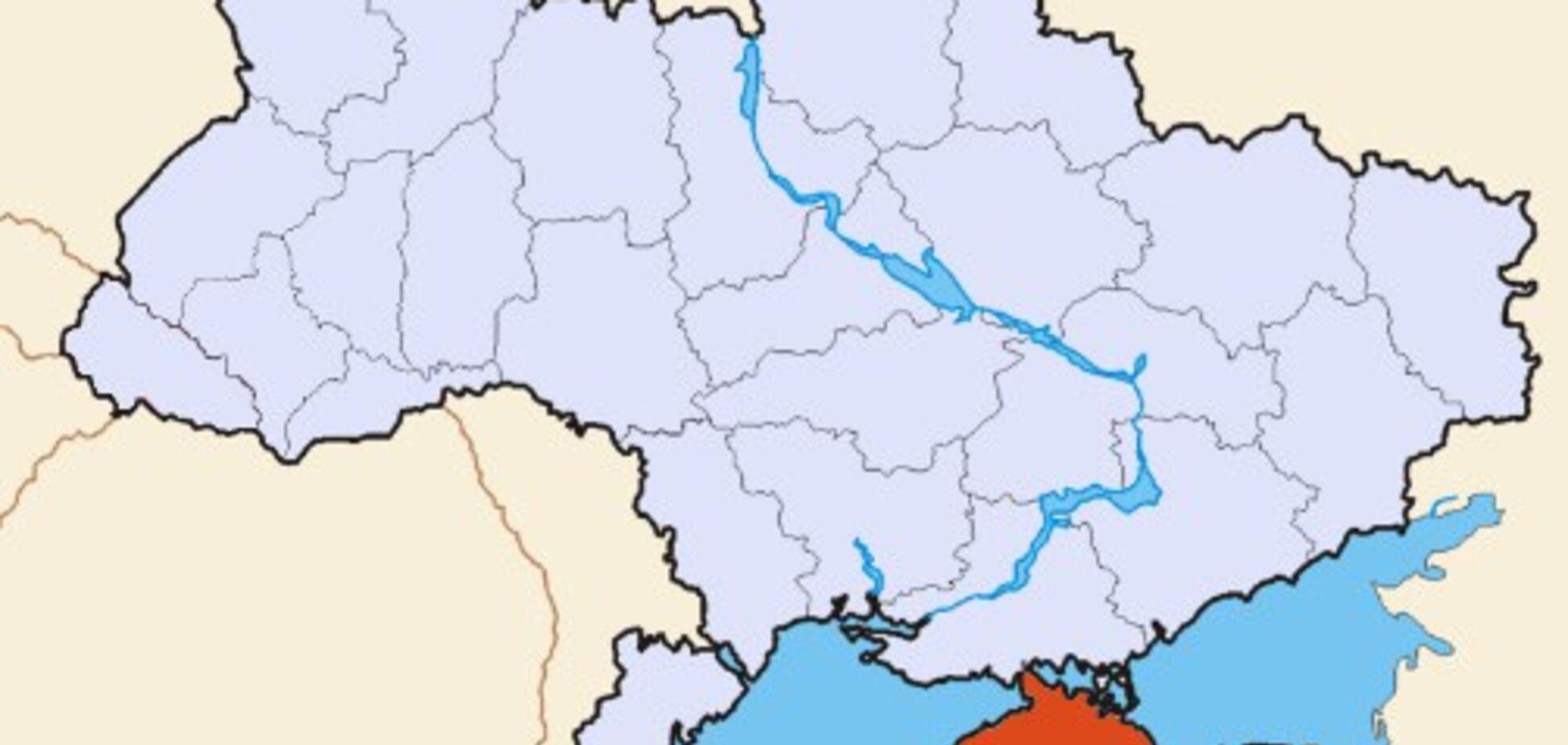 Чей Крым? Bloomberg опозорился с картой Украины