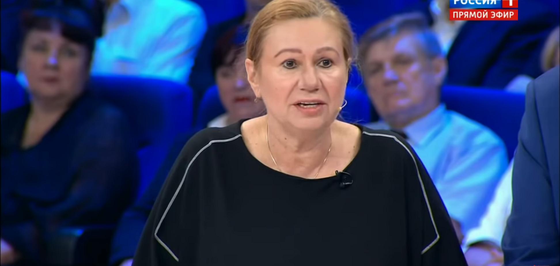 'Бабин Яр - конкурс голих, а концтабір - солярій': мати Бережної шокувала на росТВ заявами про Україну