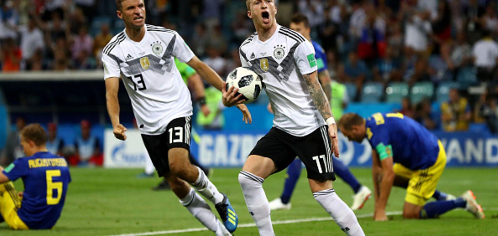 Південна Корея - Німеччина -2-0: онлайн-трансляція матчу ЧС-2018