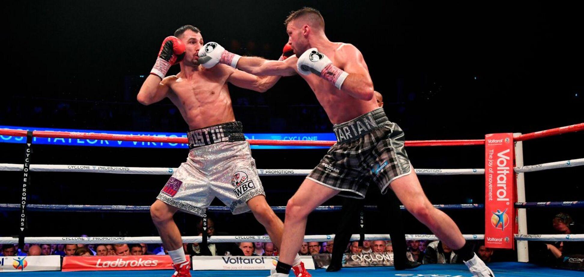 Знаменитий український боксер програв чемпіонський бій, побувавши в нокдауні