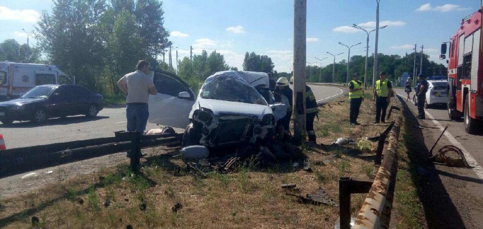 Погибли все: на трассе Днепр-Кобеляки произошло страшное ДТП