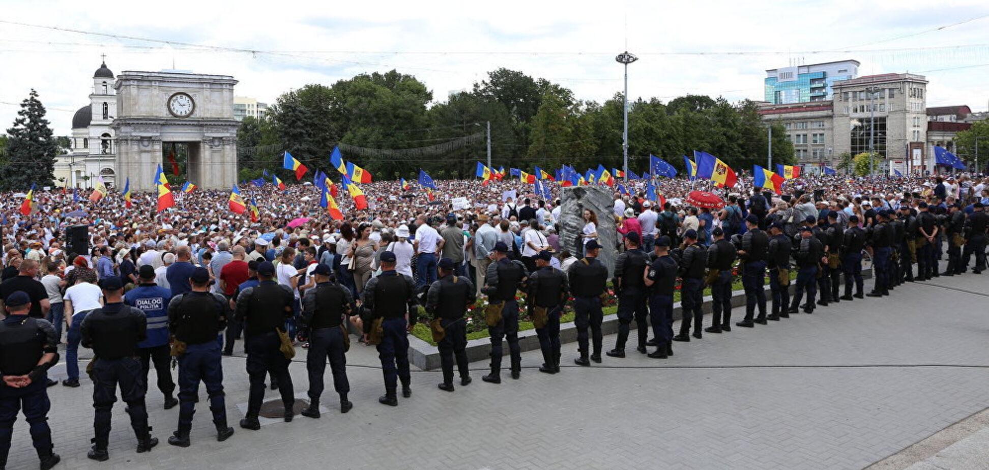Новый 'Майдан' в Молдове: Портников увидел связь с Украиной