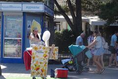 'Зачем нам, россиянам, на шее такой Крым?' Фото из Алушты