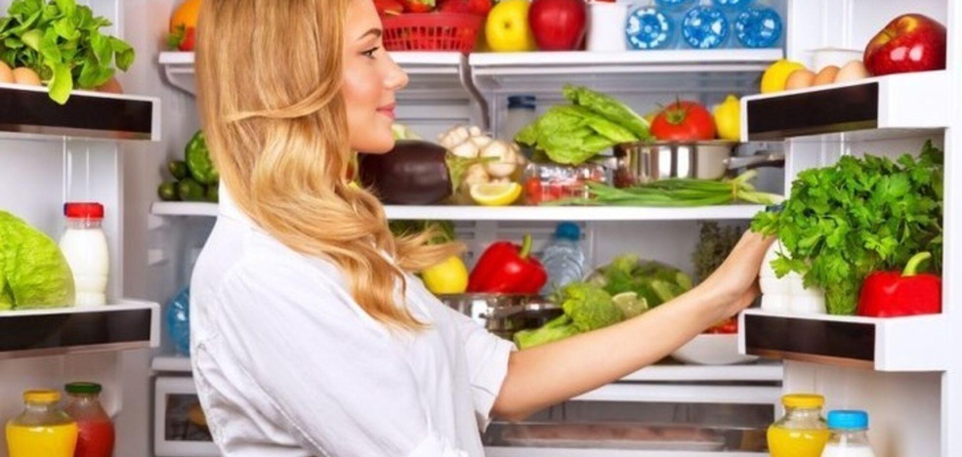 Здоровый холодильник: 10 советов диетолога