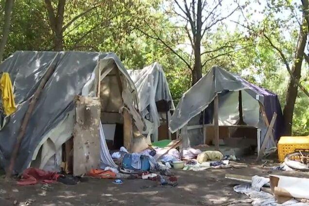 Напад на табір ромів у Львові