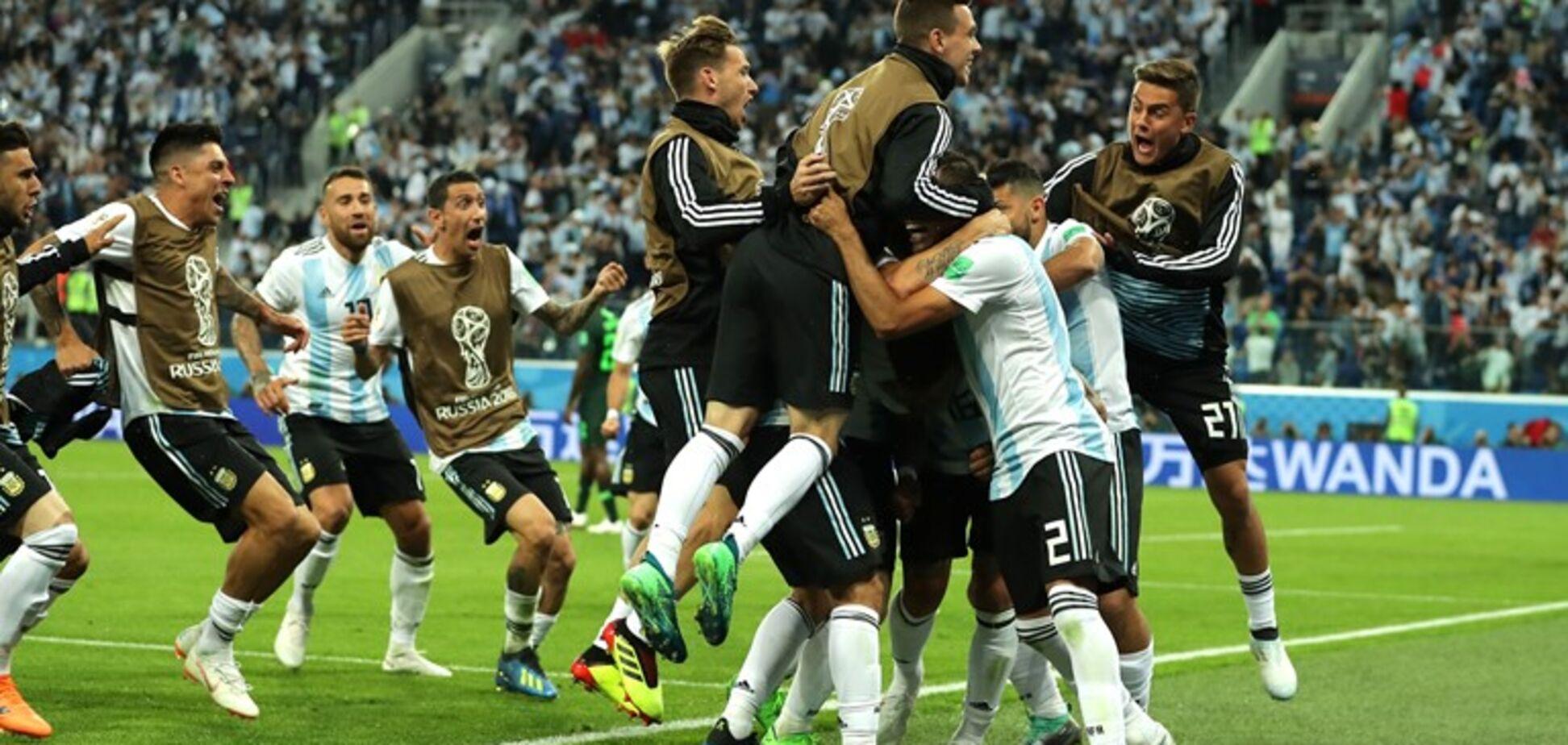 Нігерія - Аргентина - 1:2: онлайн-трансляція матчу ЧС-2018