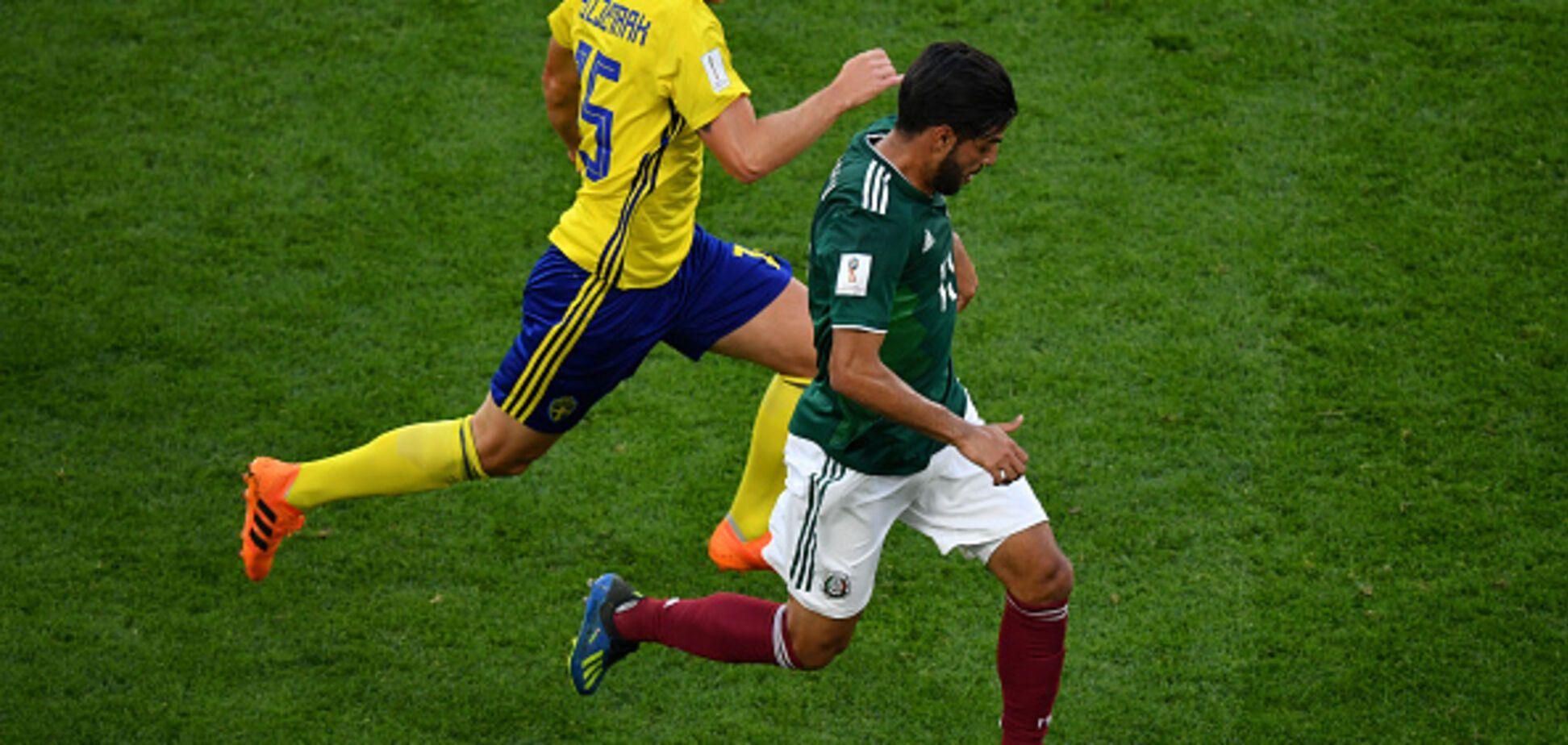 Мексика – Швеция: обзор матча ЧМ-2018