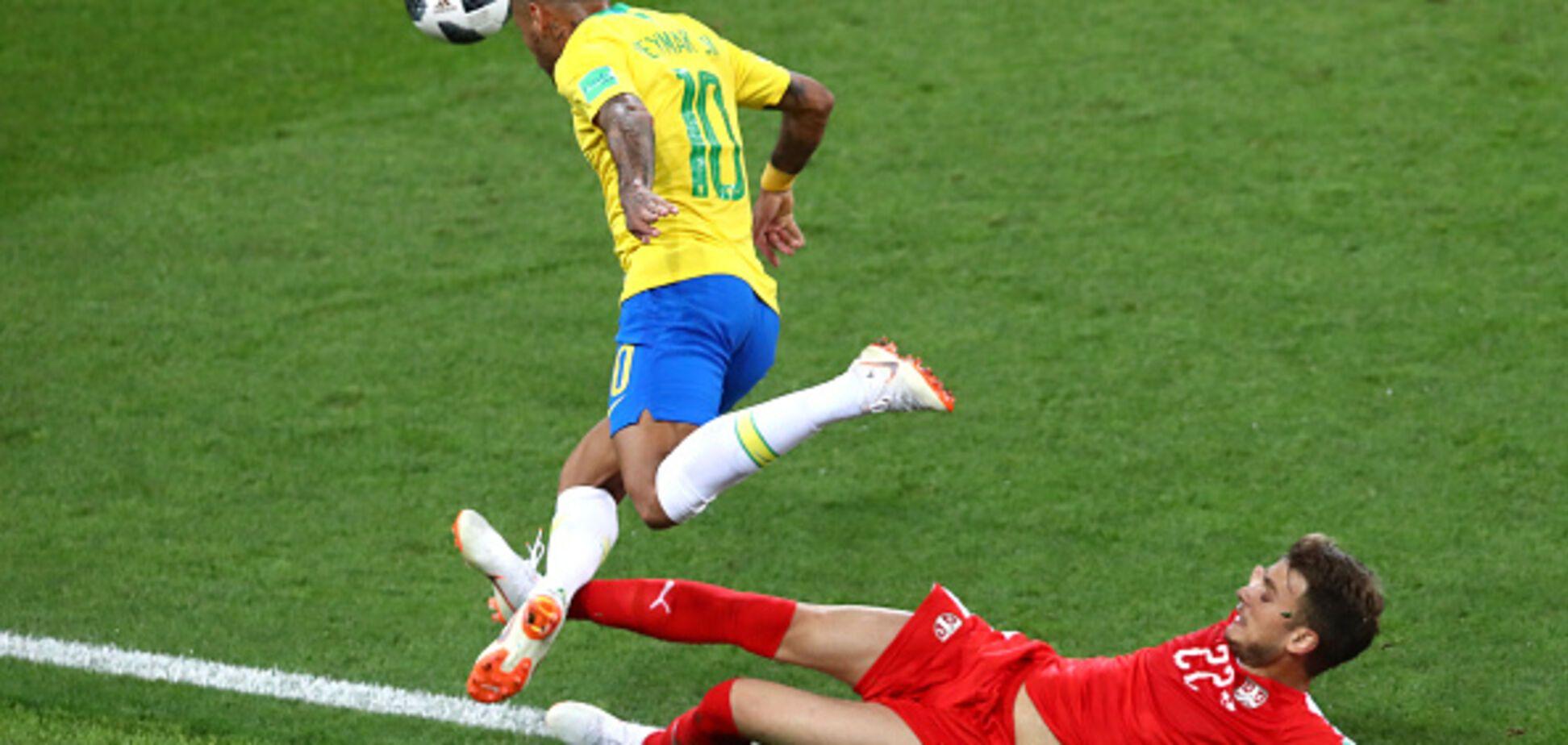 Бразилия красиво вышла в плей-офф ЧМ-2018