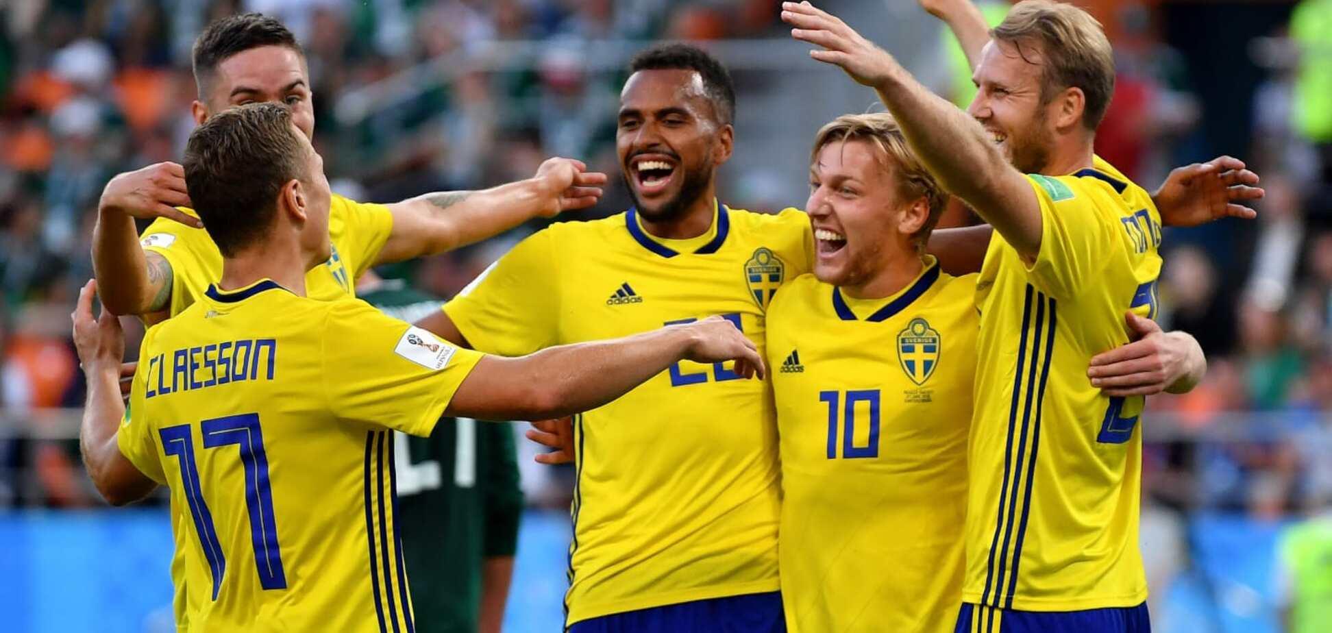 Мексика – Швеция - 0:3: онлайн-трансляция матча ЧМ-2018