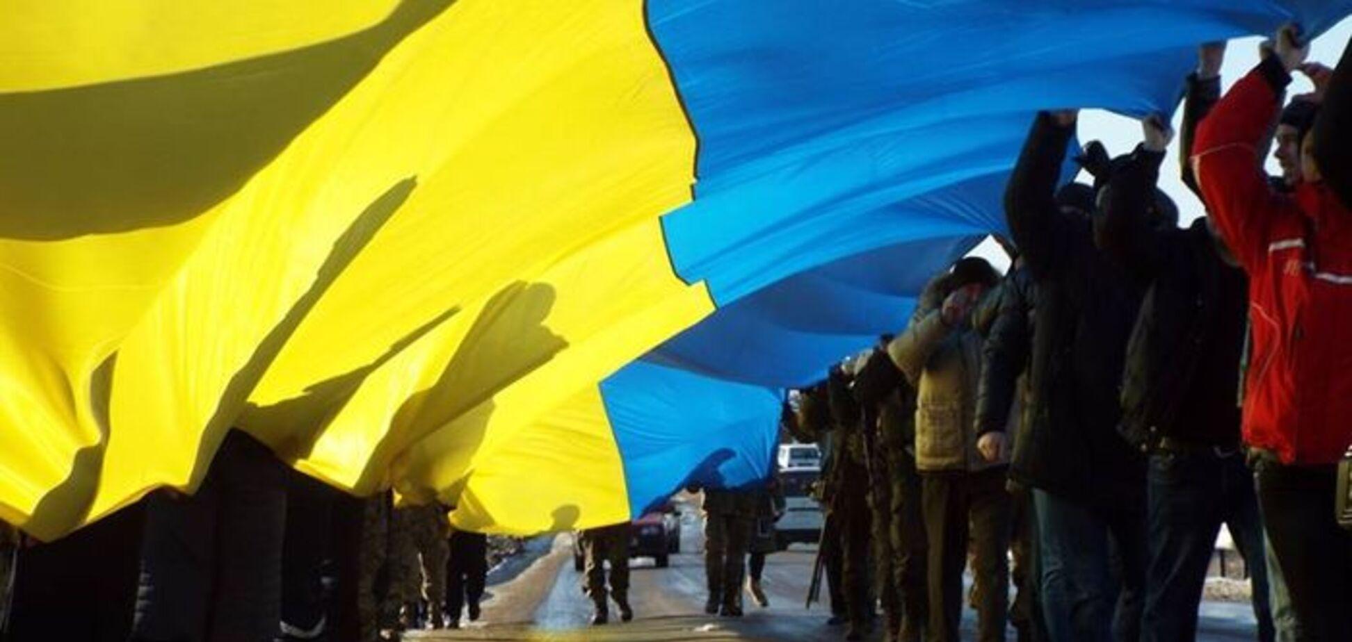 'Слава Украине!' Жители Донбасса устроили яркую 'провокацию' под носом у оккупантом